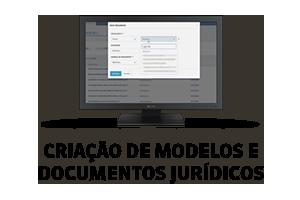 Criação de modelos e documentos jurídicos